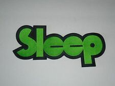 SLEEP STONER/DOOM METAL EMBROIDERED BACK PATCH