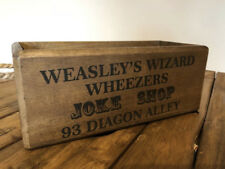 Wooden storage box Harry Potter wizard gift box decorative handcrafted unique