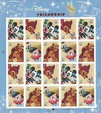 Scott #3865-68 Art of Disney Friendship postage Sheet of 20-37 cent stamps