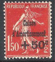 France 1931 Sinking Fund carmine-red 1f.50c 50c mint SG496