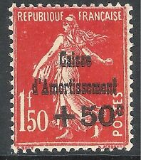 France 1931 Sinking Fund carmine-red 1f.50c 50c mint SG496