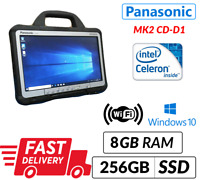 "MK2 FASTER PANASONIC TOUGHBOOK CF-D1 13.3"" TABLET 8GB Ram 256GB SSD Windows 10"