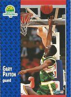 Gary Payton Fleer 1991/92 - NBA Basketball Card #194