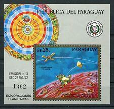 Paraguay Block 209 postfrisch / Weltraum .................................1/1184