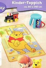 Disney Winnie Pooh Kinder Teppich Spiel Kinderzimmer Spielteppich ca. 80x140 cm