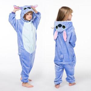 Adult/Kids Animal Crazy 1Onesie Onesey Fleece Hooded Jumpsuit Playsuit Novelty