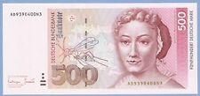 Germany, 500 deutsche mark, 1993, UNC, P 43b