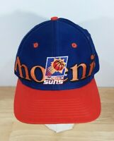 Vintage 90s NBA Phoenix Suns Logo7 Big Spell Out Embroidered Snap-Back Ball Cap