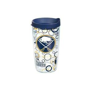 Buffalo Sabres 16 Oz Tervis Tumblers BUBBLES UP W/Blue or Yellow Lid-New!