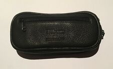 Sharrow COMBINATION PIPE TOBACCO POUCH ZIP SOFT LEATHER HIGH QUALITY