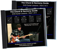 The Chord And Harmony Guide for Guitarists 2 DVD Set theory, harmony, arranging