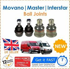 For Movano Renault Master Interstar Ball Joints Upper Lower Ball Joints Set New