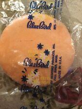 Vintage Bluebird Pink Powder Puff - 1960s (?)