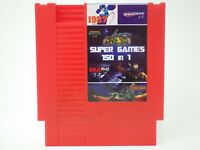The Original Super Games 150 in 1 Nintendo NES Cartridge Multicart v1.0 Fire Red