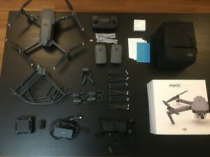 DJI Mavic Pro Drone Fly More Combo AND accessories