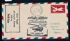87312) Helikopterpost USA , South Gate - Riverside 16.10.1947, GAU