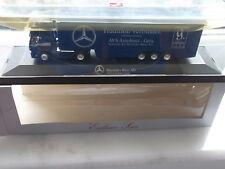 """Herpa MB SK 94 Eurocab Koffersattelzug """" Mercedes Benz AG AVS Autohaus Gera 1:87"""