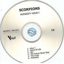 SCORPIONS HUMANITY HOUR I france french CD PROMO SAMPLER