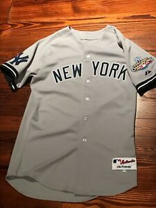 2010 New York Yankees Curtis Granerson BASEBALL JERSEY Sz 44 double patch