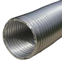 Flexible Aluminum Ducting Hose Round Ventilation Tube Flexi Duct Pipe Flexipipe