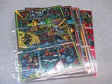 Marvel Universe Series 4 ~ 180 Base Set & Chase Cards ~ 1993 ~ NM