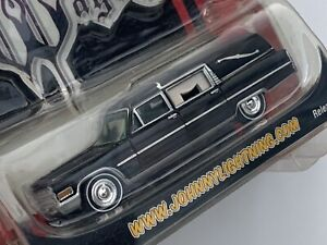 N11 Johnny Lightning Wicked Wagons Cadillac Hearse! Release 1! Black ⚫️ rare ⚫️