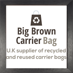 Big Brown Carrier Bag