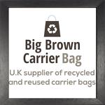 Big Brown Carrier Bag