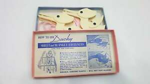 Vintage Ducky Sheet and Baby Girl Blanket Fasteners in Original Box