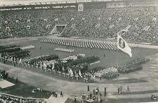 MOSCOU 1957 - Sportifs  Stade Central de Lénine Ouverture des Jeux - PR 393