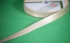 Craft Sewing-Dressmaking-Trimming LAME BIAS BINDING TAPE 18MM Two Colours-Metres