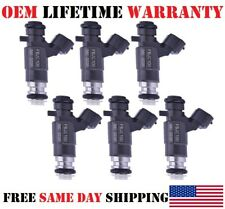 GENUINE 6pc OEM^ Bosch ^Fuel Injectors 2003&2004 NISSAN 350Z 3.5L /Refurb/