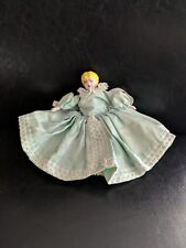 Antique China Doll, Porcelain Original Clothing, Porcelain Arms & Legs, Blonde