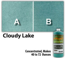 Professional Easy to Apply Water Based Concrete Stain Cloudy Lake 8oz Bottle