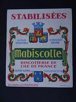 BUVARD BISCOTTES MABISCOTTE BISCOTTERIE ILE DE FRANCE MITRY MORY