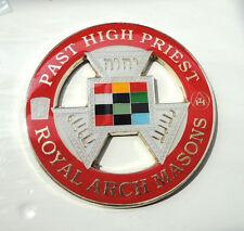 ZPs3 Masonic Masons LARGE badge Freemason Royal Arch Mason Past High Priest