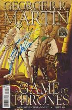 SIGNED~GEORGE R.R. MARTIN~GAME OF THRONES #16 COMIC BOOK~1st PRINT~DYNAMITE~NM