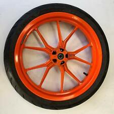 KTM Duke 390 2014 Front wheel rim tyre