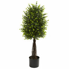 Ixora Topiary UV Resistant Artificial Plant Nearly Natural 35''Home Garden Decor