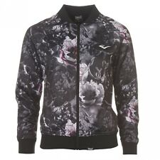 Official Everlast Tricot Ladies Floral Bomber Jacket, Size: 8, 10
