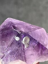 More details for gem amethyst tooth root with rare inclusions