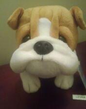 "British Bulldog dog 8.5"" Hm883 Webkinz with Unused Tag Code~ In Hand"