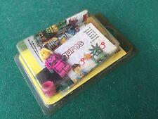 LEGO MINIFIGURES Serie 6 INTERGALACTIC GIRL , BOX NUOVO/SIGILLATO space sword