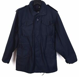 ALPHA INDUSTRIES M65 Cold Weather Field Jacket Men's XS Coat Surplus Army Bomber
