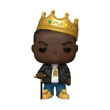 "Funko Pop! Notorious B.I.G with crown 10"" inch Biggie Smalls #162"