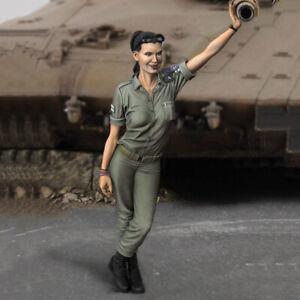 1:35 resin soldiers figures model kit IDF officer tank commander Unassembled