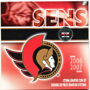 2007 CANADA NHL TEAM GIFT SET - OTTAWA SENATORS