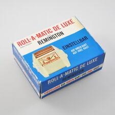 Remington Roll-a-Matic de Luxe - Elektrischer Rasierapparat + Etui - Vintage