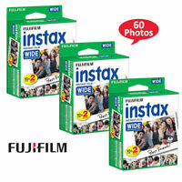 20-40 & 60 Prints Fujifilm instax Wide instant film For Fuji Wide Cameras