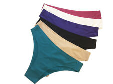 6 womens seamless panties Teens underwear Lot Bikinis briefs Lingerie Size XS